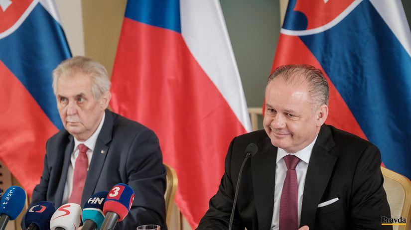 Andrej Kiska, Miloš Zeman