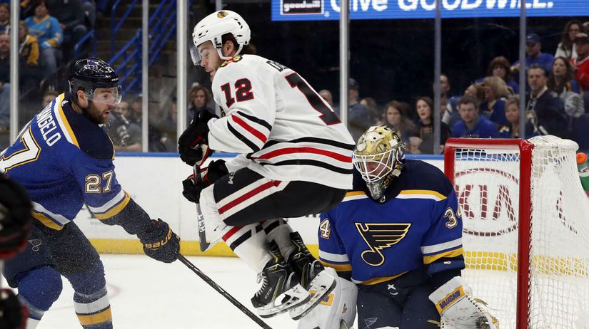Blackhawks Blues Hockey NHL