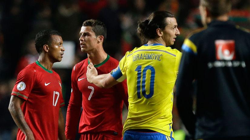 Cristiano Ronaldo, Zlatan Ibrahimovič