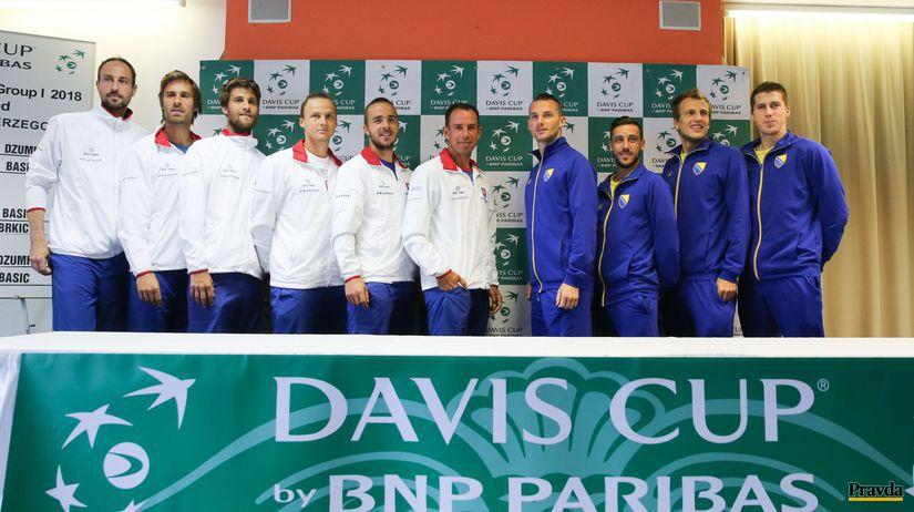 Davis Cup, Slovensko, Bosna a Hercegovina