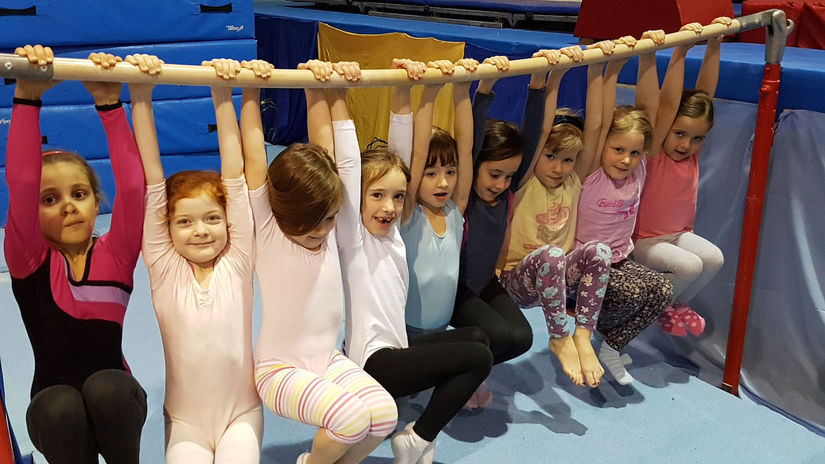 gymnastika, šport pre všetkých