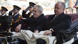 Prijatie, český prezident, Tatry, Kiska, Zeman