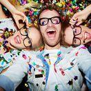 selfie, party, oslava, nový rok,