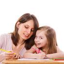 školák, rodičia, domáce úlohy, prvák