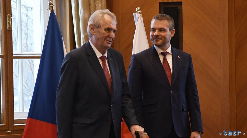 SR ČR Vysoké Tatry Pellegrini Zeman stretnutie POX