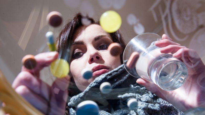 antidepresíva, lieky, tabletka, depresia