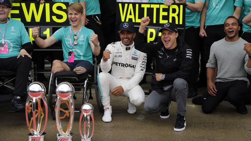 Billy Monger, Lewis Hamilton, Valtteri Bottas