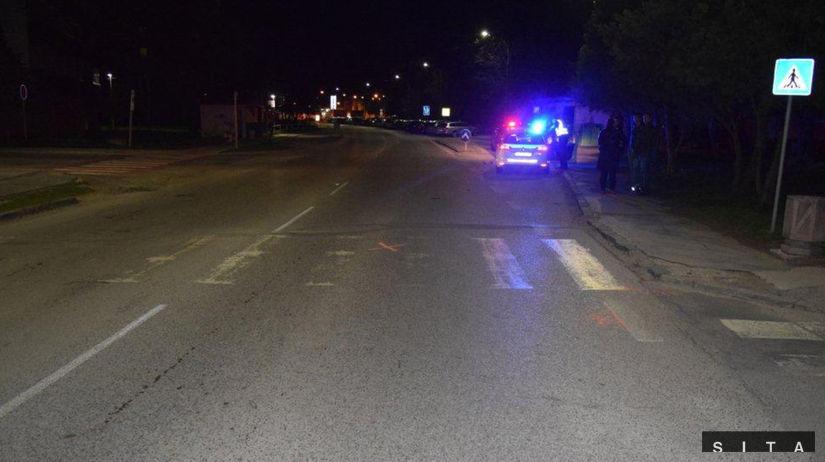 Dopravná nehoda Sereď