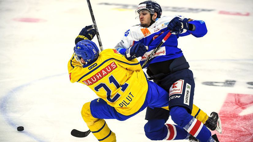 Švédsko SR Hokej MS18 Príprava EHCh