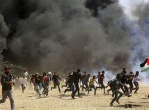 Izrael Palestínčania Gaza protesty zranení