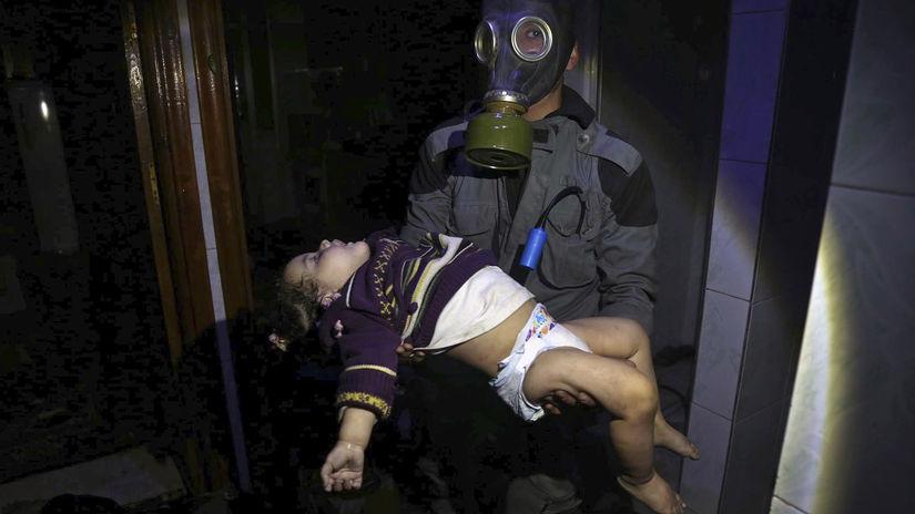 sýria, dúmá, dieťa