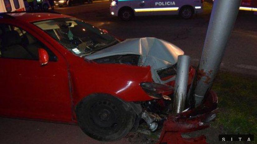 POLÍCIA: Dopravná nehoda