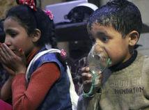 Syria, dúmá, deti, útok
