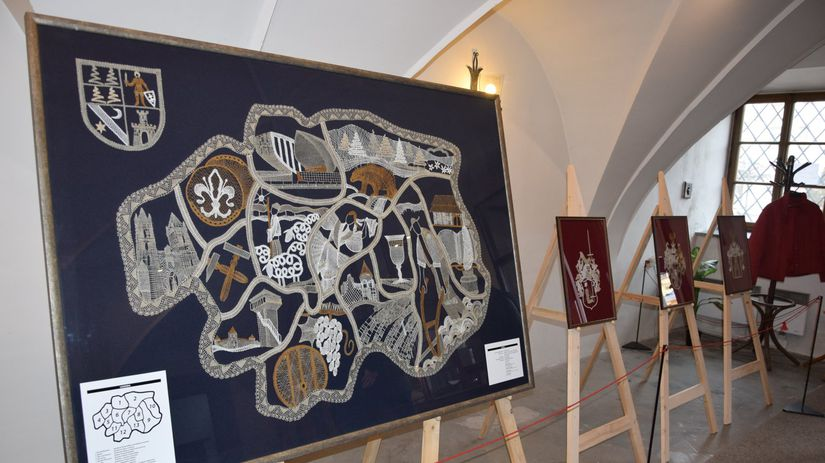 čipky, Stredoslovenské múzeum