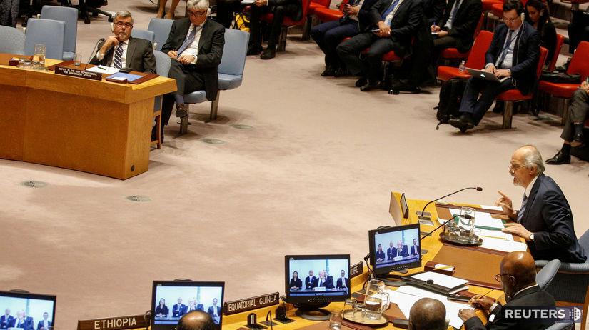Sýria, veľvyslanec OSN