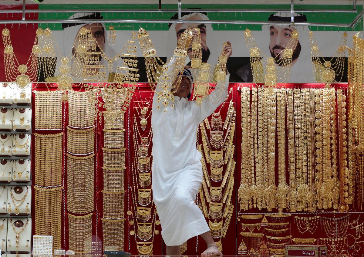 Dubaj, klenoty, zlato, zlatníctvo