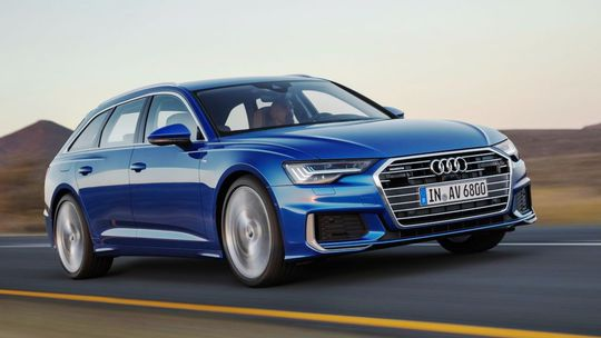 Audi A6 Avant: Línie à la 'shooting brake' kufor neohrozia