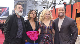 Dwayne Johnson, Malin Akerman, Naomie Harris a Jeffrey Dean Morgan.
