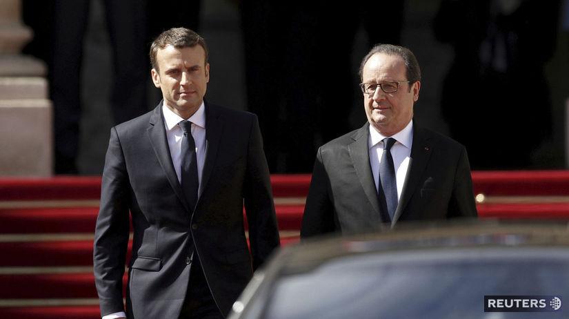 Francois Hollande, Emmanuel Macron