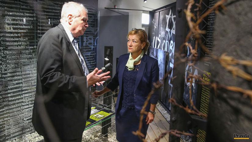 Múzeum holokaustu Sereď, Laššáková, Mešťan,