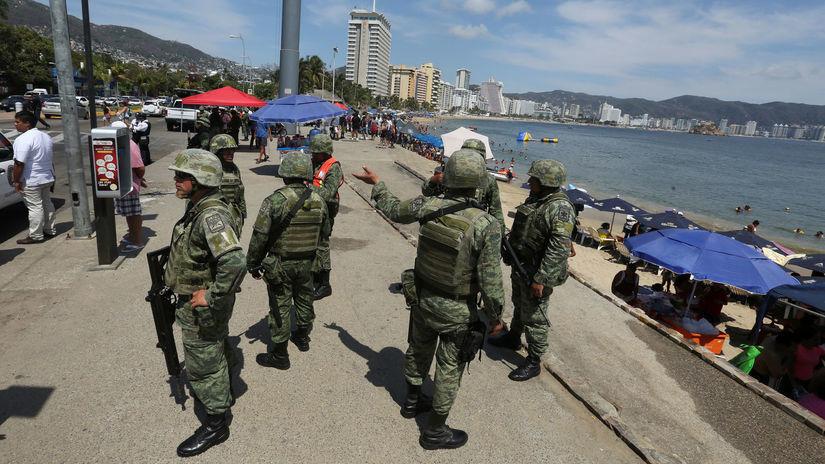 polícia, Mexiko, drogy