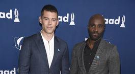 Herci Brian J. Smith (vľavo) a Toby Onwumere zo seriálu Sense8.