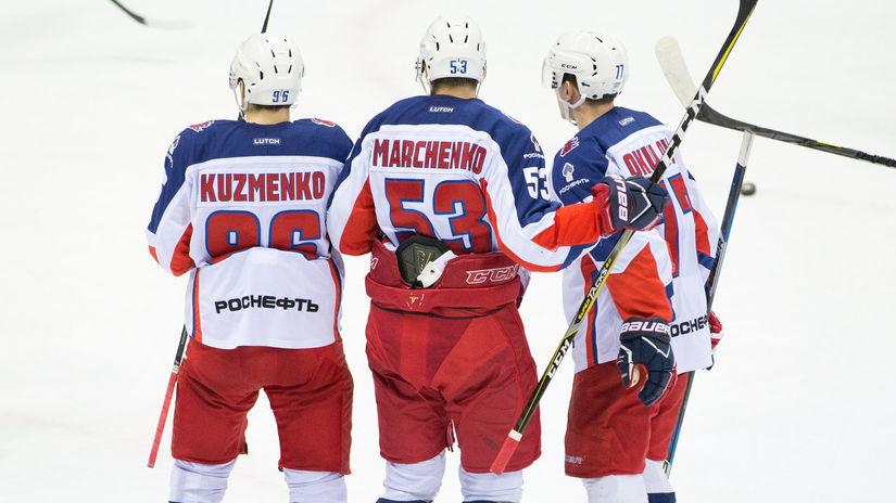 HOKEJ-KHL: Bratislava - Moskva
