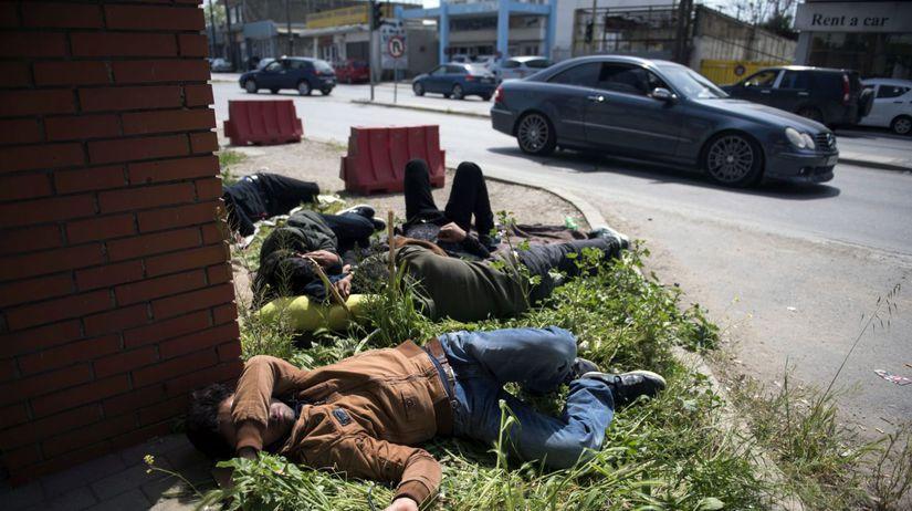 migranti, grécko