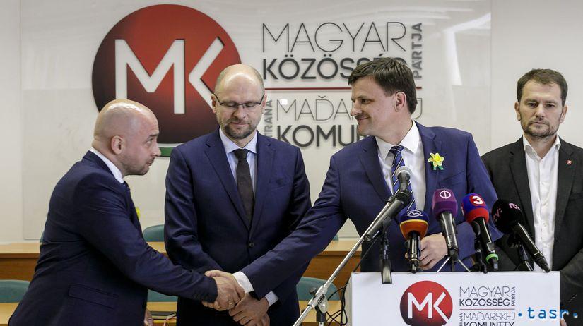 SR Bratislava SaS OĽaNO KDH SMK stretnutie BAX