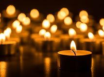 úmrtie, sviečka, pohreb
