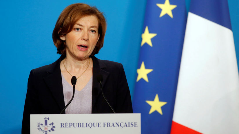 Florence Parlyová, Francúzsko, ministerka obrany