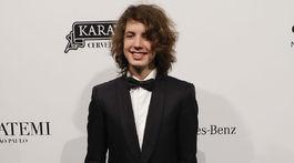 Lucas Jagger, synovej hudobníka a speváka Micka Jaggera na akcii amFAR.
