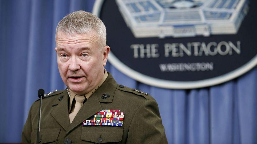 Pentagón, USA, generálporučík, Kenneth McKenzie