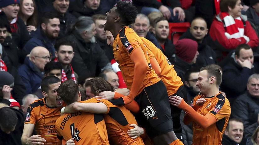 Wolverhampton, futbal, radosť