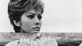 Herečka Claudia Cardinale na snímke z filmu Bubovo dievča.