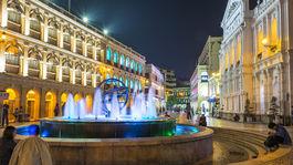 Macao, fontána