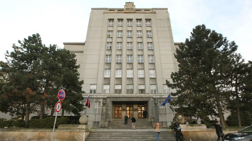 ministerstvo vnútra, mv sr, budova