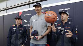 Yi Jianlian, Max Verstappen, Daniel Ricciardo