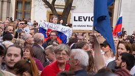 zhromaždenie, Za slušné Slovensko, Bratislava