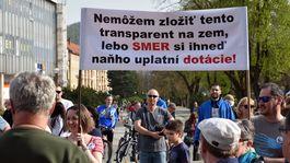 zhromaždenie, Za slušné Slovensko, Humenné
