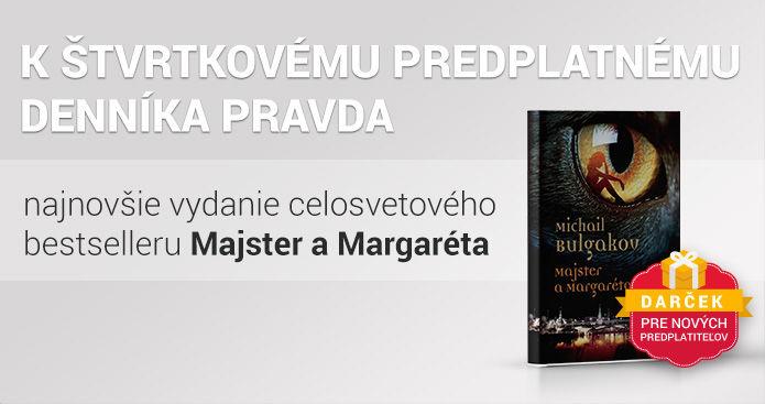 Štvrtkové predplatné s knihou Majster a Margaréta