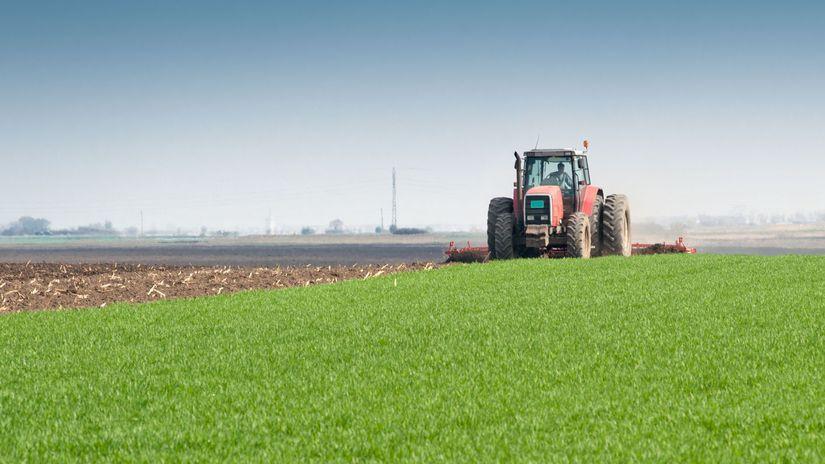 poľnohospodári, poľnohospodár, traktor, pole