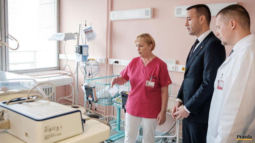 pôrodnica, Ružinov, Tomáš Drucker, minister...