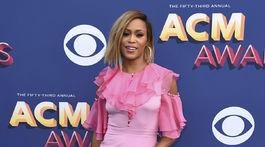 Speváčka Eve na 53. ročníku cien Country Music Awards.