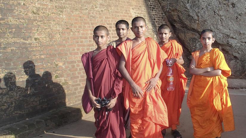 Budhistickí mnísi, Srí Lanka,