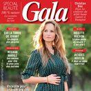 Slovenská modelka Adriana Sklenaříková Karembeu na obálke magazínu GALA.