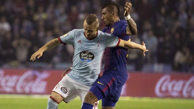 Spain Soccer La Liga Lobotka Celta