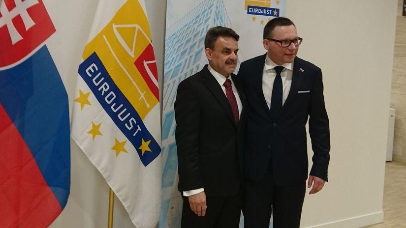 Jaromír Čižnár, Ladislav Hamran, Eurojust