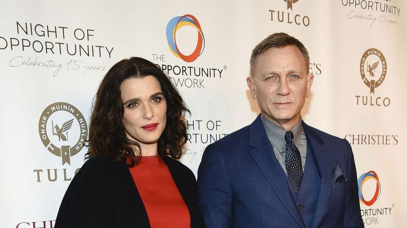 Daniel Craig a jeho manželka Rachel Weisz