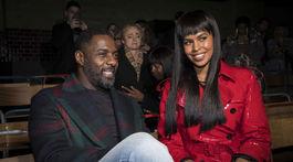 Herec Idris Elba a jeho snúbenica Sabrina Dhowre na archívnom zábere.